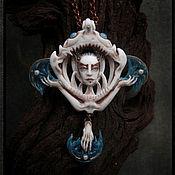 """Украшения ручной работы. Ярмарка Мастеров - ручная работа """"Devilfish"""" кулон. Handmade."""