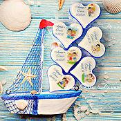 """Косметика ручной работы. Ярмарка Мастеров - ручная работа Свадебное мыло """"Море"""". Handmade."""