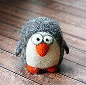 Куклы и игрушки ручной работы. Ярмарка Мастеров - ручная работа Пингвин - войлочный пингвин - войлочная игрушка. Handmade.