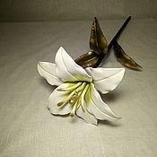 Products handmade. Livemaster - original item lily forged. Handmade.