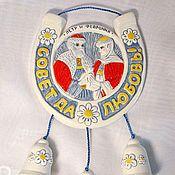 Подарки к праздникам handmade. Livemaster - original item Horseshoe for happiness