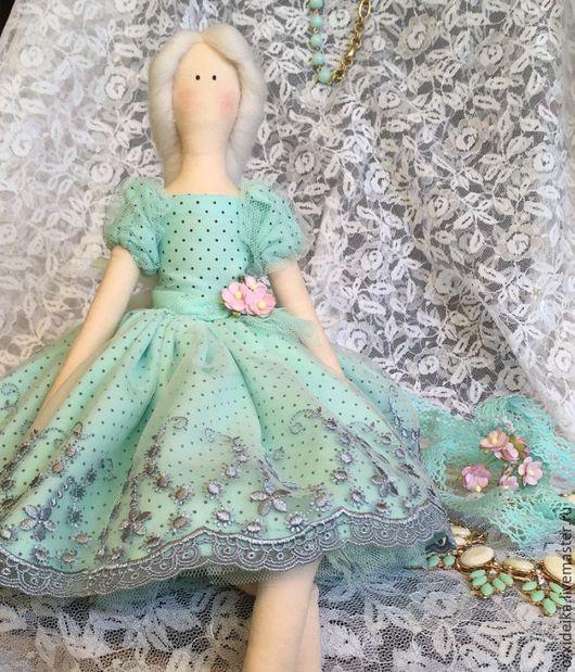 Куклы Тильды ручной работы. Ярмарка Мастеров - ручная работа. Купить Кукла тильда. Handmade. Бирюзовый, кукла, кукла Тильда