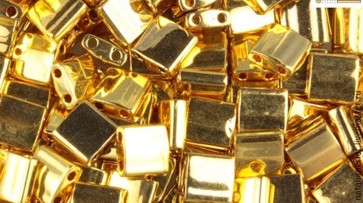 Для украшений ручной работы. Ярмарка Мастеров - ручная работа. Купить Миюки ТИЛА 191 metallic 24Kt gold finish 10гр. Handmade.