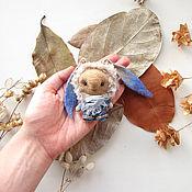 Куклы и игрушки ручной работы. Ярмарка Мастеров - ручная работа Игрушка Заяц - Кролик - Валяный заяц - Валяный кролик - Кукла заяц. Handmade.