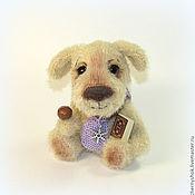 Куклы и игрушки ручной работы. Ярмарка Мастеров - ручная работа Песик Шоколадный носик. Handmade.