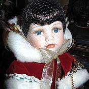 Винтаж ручной работы. Ярмарка Мастеров - ручная работа Фарфоровая кукла Leonardo Collection. Handmade.