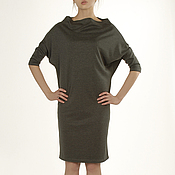 Одежда handmade. Livemaster - original item Dress Diamond dark grey convertible dresses, Jersey dress. Handmade.
