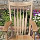 Мебель ручной работы. Ярмарка Мастеров - ручная работа. Купить Кресло-качалка. Handmade. КРЕСЛО-КАЧАЛКА, массив дерева