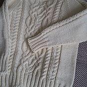 Одежда ручной работы. Ярмарка Мастеров - ручная работа Детский пуловер с аранами. Handmade.