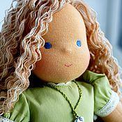 """Куклы и игрушки ручной работы. Ярмарка Мастеров - ручная работа вальдорфская кукла """"Каролина"""" - 36см. Handmade."""
