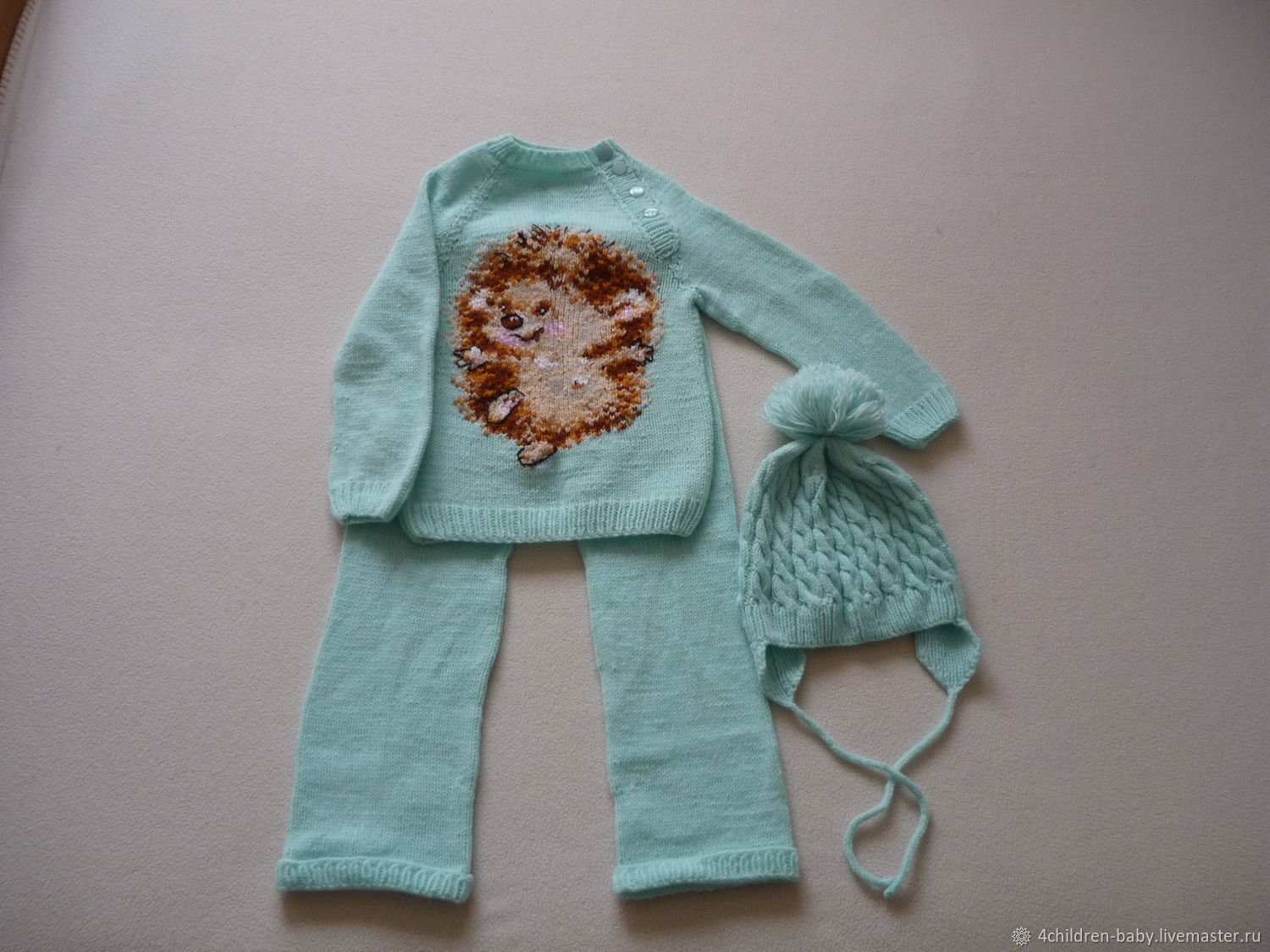 Clothing Sets: Kids Set with Hedgehog, Baby Clothing Sets, Moscow,  Фото №1