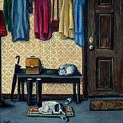 """Картины и панно ручной работы. Ярмарка Мастеров - ручная работа """"Ожидание. Когда время остановилось"""". Handmade."""