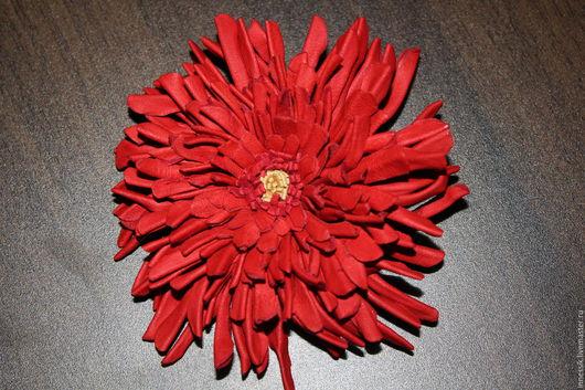 """Броши ручной работы. Ярмарка Мастеров - ручная работа. Купить Брошь"""" Коралловый рифы"""". Handmade. Коралловый, цветок брошь"""
