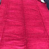 Fabric handmade. Livemaster - original item Cotton velvet, the Netherlands. Handmade.