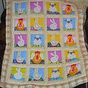 Для дома и интерьера handmade. Livemaster - original item baby blanket. Handmade.