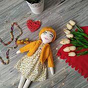 Тыквоголовка ручной работы. Ярмарка Мастеров - ручная работа Текстильная кукла. Textile doll.. Handmade.