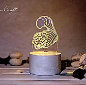 Подарки к праздникам ручной работы. Ярмарка Мастеров - ручная работа Ночник-Чеширский кот. Handmade.