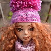 Лора. Авторская кукла, интерьерная кукла. LivingDoll, текстиль.