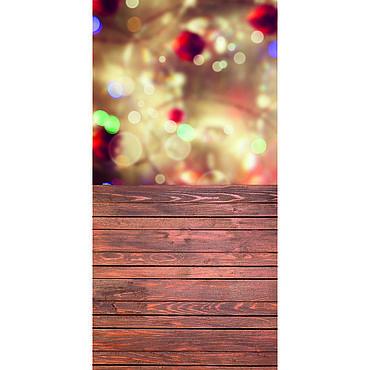 """Дизайн и реклама ручной работы. Ярмарка Мастеров - ручная работа Фотофон """"Зимнее боке"""" #105. Handmade."""