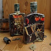 Сувениры и подарки handmade. Livemaster - original item Cognac 1 in the style of steampunk (steampunk). Handmade.