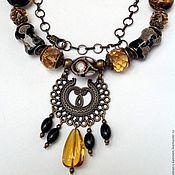 Украшения handmade. Livemaster - original item Necklace beads ethnic decorative glass Carnival of Venice. Handmade.