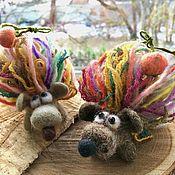 handmade. Livemaster - original item Christmas hedgehog. Handmade.