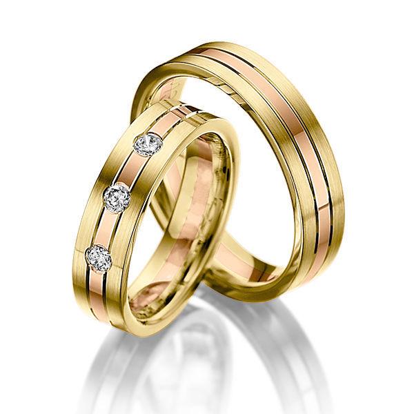 Свадебные украшения ручной работы. Ярмарка Мастеров - ручная работа. Купить  Обручальные кольца Combined 81 ... ab83dee8146