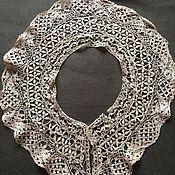 Винтаж handmade. Livemaster - original item The Maltese silk lace collar. Handmade.