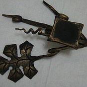 Для дома и интерьера ручной работы. Ярмарка Мастеров - ручная работа Подсвечник лоза кованый. Handmade.