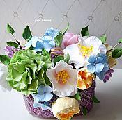 Подарки к праздникам ручной работы. Ярмарка Мастеров - ручная работа Мини букетики. Handmade.