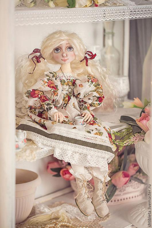 Коллекционные куклы ручной работы. Ярмарка Мастеров - ручная работа. Купить Кукла Варенька 2. Handmade. Комбинированный, кукла интерьерная
