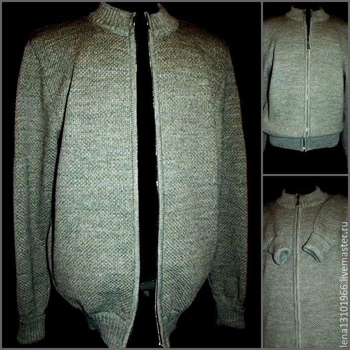 Associated linen Hoody with zipper Style Ease Comfort, Sweatshirts for men, Kostroma,  Фото №1