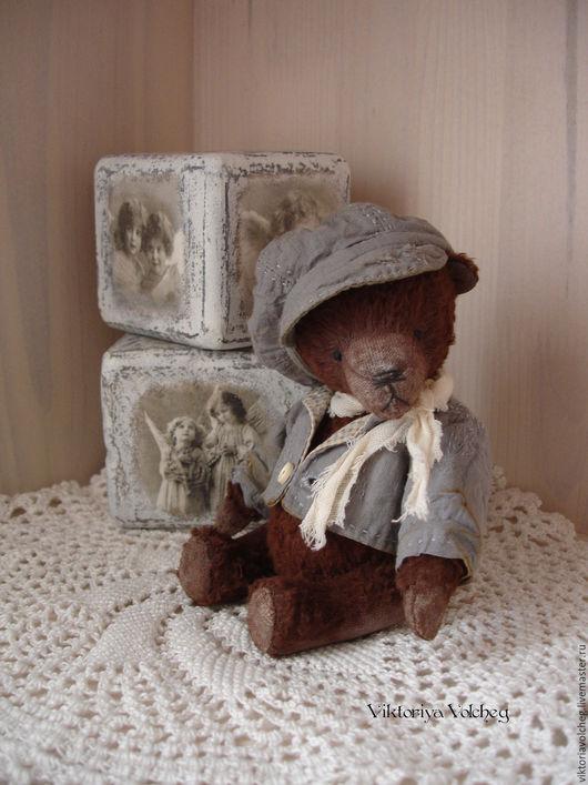 Мишки Тедди ручной работы. Ярмарка Мастеров - ручная работа. Купить Мишка Сэм. Handmade. Коричневый, медвежонок, опилки древесные