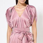 Одежда handmade. Livemaster - original item Evening dress Triumph satin. Handmade.