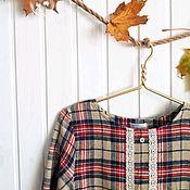 """Одежда ручной работы. Ярмарка Мастеров - ручная работа Платье """"Уютная осень"""".. Handmade."""