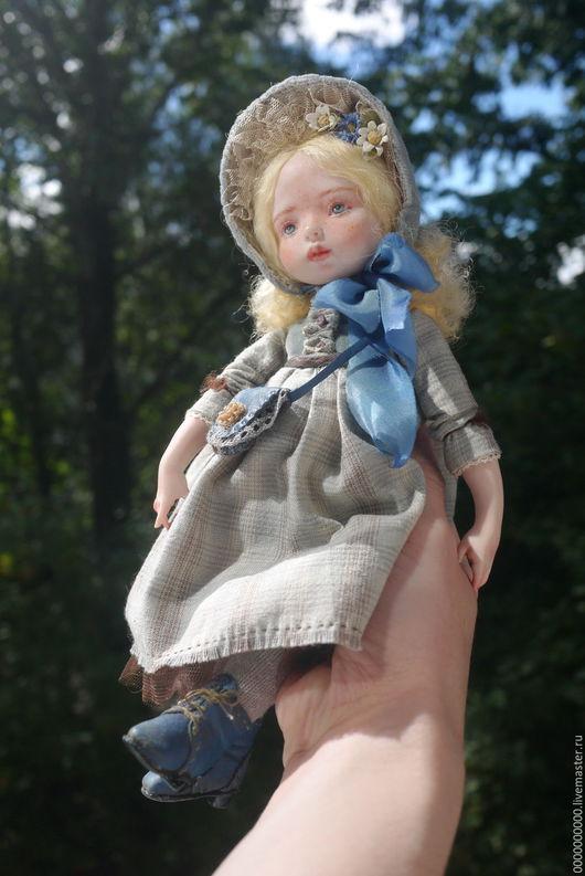 Коллекционные куклы ручной работы. Ярмарка Мастеров - ручная работа. Купить Полина. Handmade. Кукла авторская, интерьерная кукла
