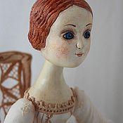 Куклы и игрушки ручной работы. Ярмарка Мастеров - ручная работа кукла Олимпия. Handmade.