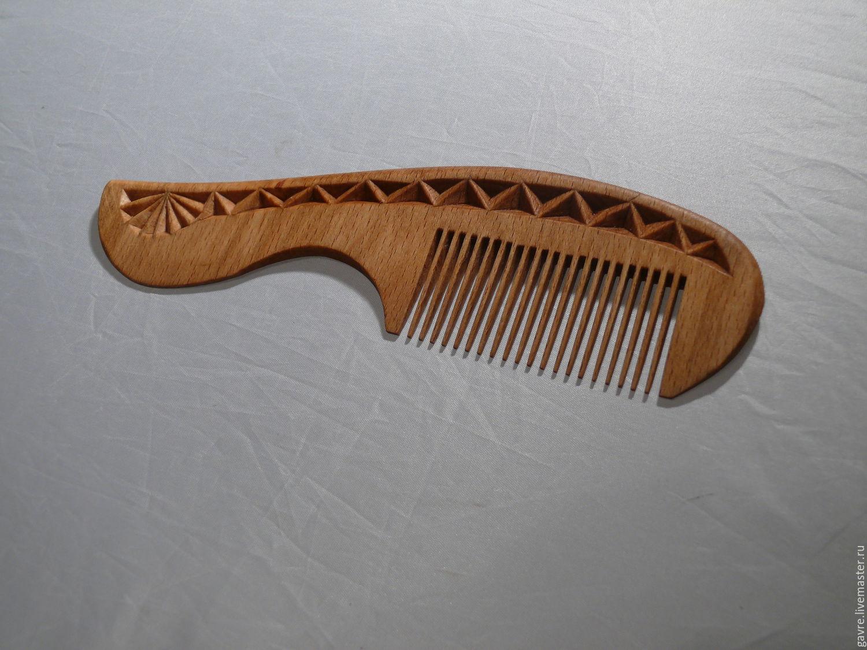 Расчёска из дерева