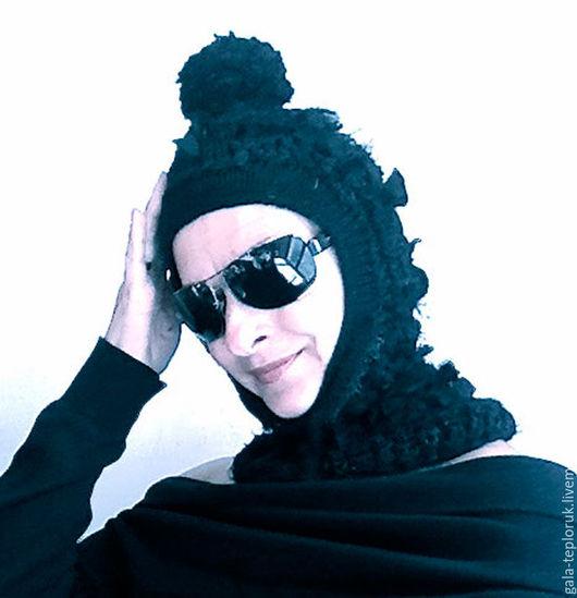 Шапки ручной работы. Ярмарка Мастеров - ручная работа. Купить арт-шапка-шлем. Handmade. Шлем, интересная шапка