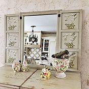 Для дома и интерьера ручной работы. Ярмарка Мастеров - ручная работа Зеркало Прованс. Handmade.
