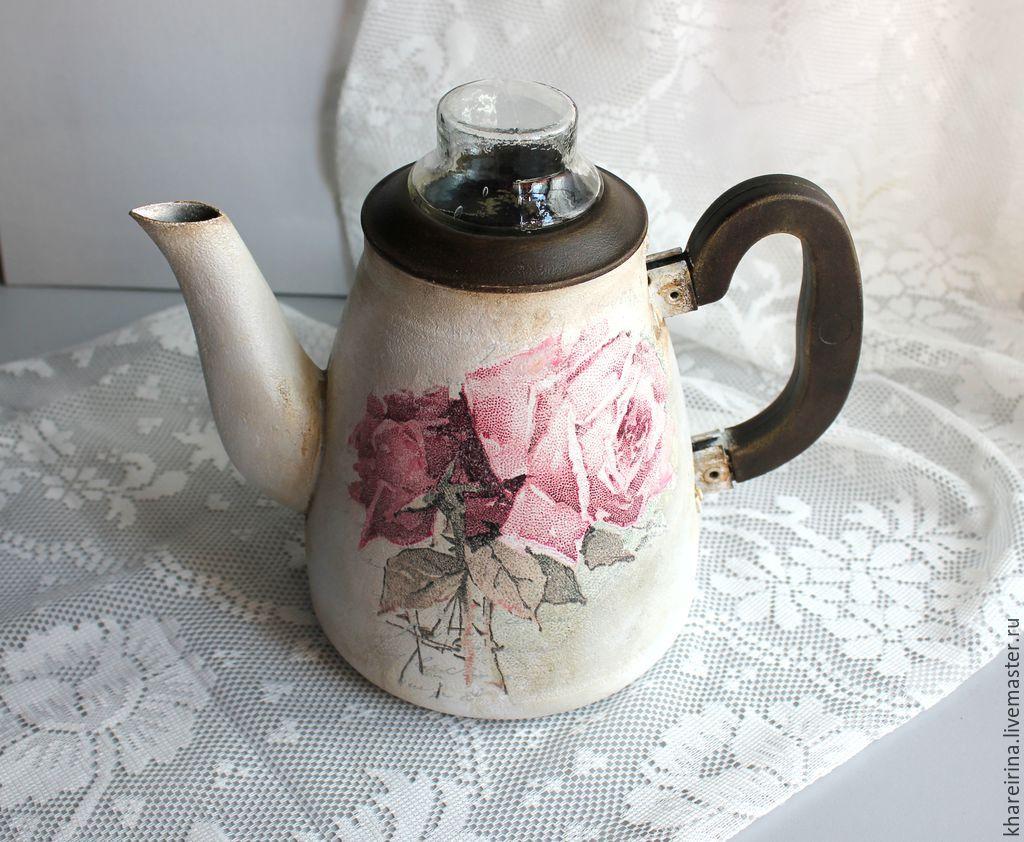 картинки заварочных чайников декупаж шаталова украинская