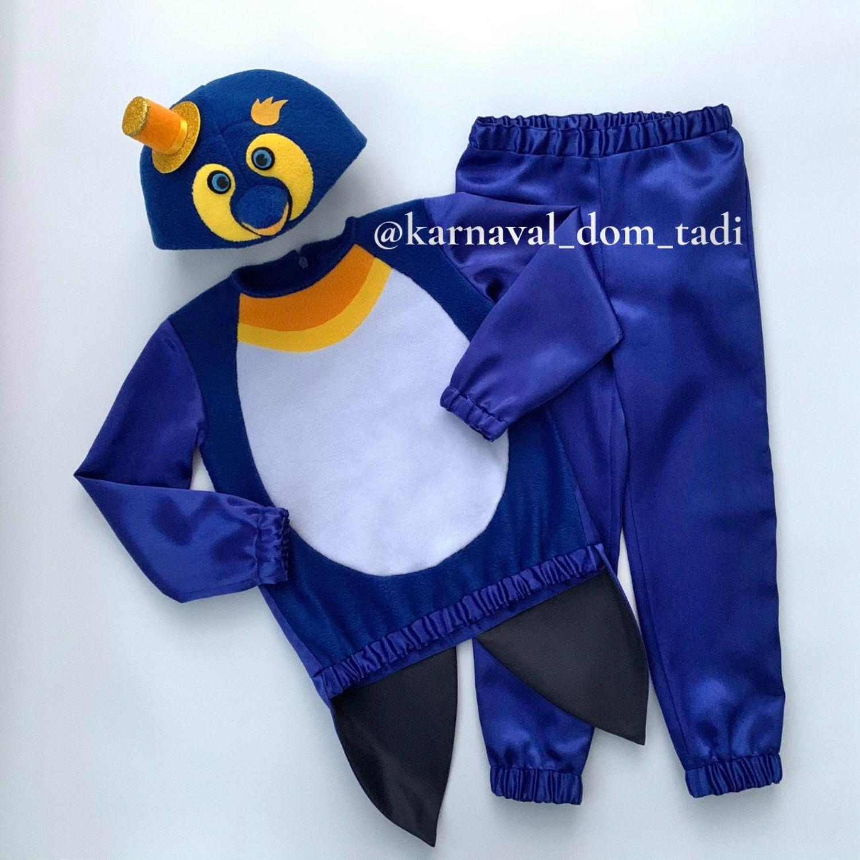 Penguin costume blue Christmas children's carnival penguin, Carnival costumes, Kaliningrad,  Фото №1