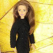 Куклы и игрушки ручной работы. Ярмарка Мастеров - ручная работа Одежда для Барби, свитер для Барби 7. Handmade.