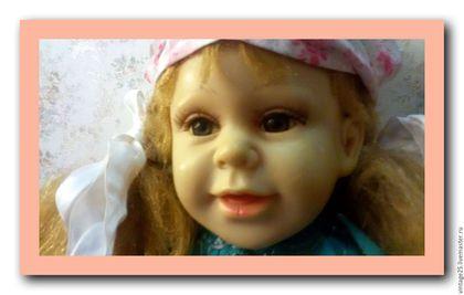 Винтажные куклы и игрушки. Редчайшая старинная кукла 50 см. Чердак старого дома (vintage25). Ярмарка Мастеров. Редка