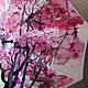 """Зонты ручной работы. Зонт с ручной росписью """"Красное дерево"""". Umbrella Fine Art. Интернет-магазин Ярмарка Мастеров."""