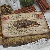 Для дома и интерьера handmade. Livemaster - original item Boxes