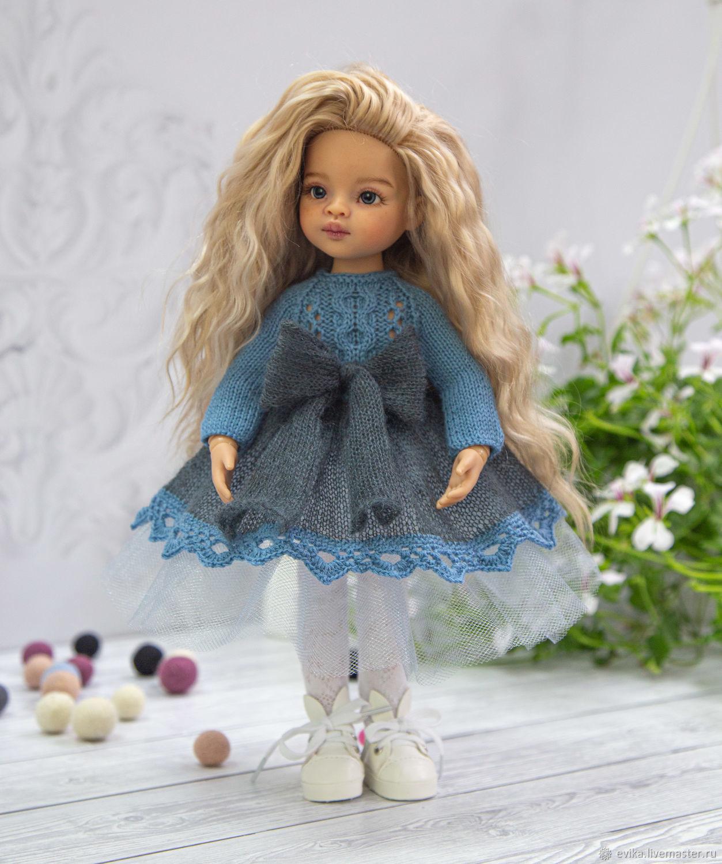 """Одежда для Паола Рейна. Платье """"Незабудка"""", Одежда для кукол, Симферополь,  Фото №1"""