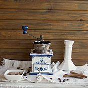 """Для дома и интерьера ручной работы. Ярмарка Мастеров - ручная работа Кофемолка """"Маленькая Голландия"""". Handmade."""