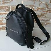 Рюкзаки ручной работы. Ярмарка Мастеров - ручная работа Стильный женский кожаный рюкзак Эксклюзивная модель. Handmade.