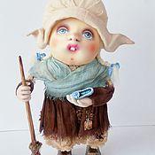 "Текстильная каркасная кукла "" Золушка """